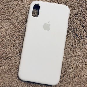 💕NEW💕 authentic APPLE Silicone iPhone X/Xs case